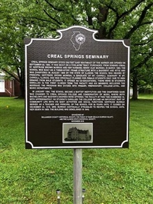 Creal Springs Seminary-Williamson County