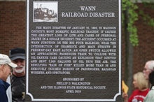 Wann Railroad Disaster-Madison County