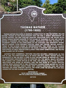 Thomas Mather, 1795-1853 Randolph County