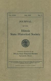 Journal of the Illinois State Historical Society, Vol. 022, No. 2, July 1929