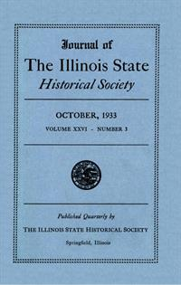 Journal of the Illinois State Historical Society, Vol. 026, No. 3, October 1933