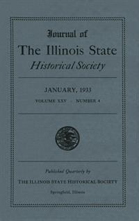 Journal of the Illinois State Historical Society, Vol. 025, No. 4, January 1933