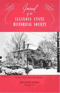 Journal of the Illinois State Historical Society, Vol. 046, No. 4, Winter 1953