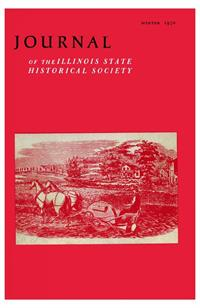 Journal of the Illinois State Historical Society, Vol. 063, No. 4, Winter 1970