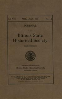 Journal of the Illinois State Historical Society, Vol. 016, No. 1-2, April-July 1923