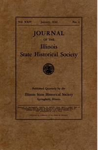 Journal of the Illinois State Historical Society, Vol. 024, No. 4, January 1932