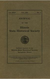 Journal of the Illinois State Historical Society, Vol. 024, No. 2, July 1931