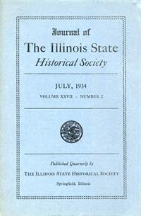 Journal of the Illinois State Historical Society, Vol. 027, No. 2, July 1934
