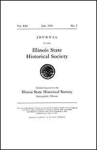 Journal of the Illinois State Historical Society, Vol. 021, No. 2, July 1928