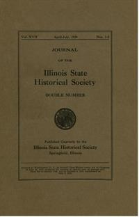 Journal of the Illinois State Historical Society, Vol. 017, No. 1-2, April-July 1924