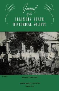 Journal of the Illinois State Historical Society, Vol. 045, No. 1, Spring 1952