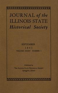 Journal of the Illinois State Historical Society, Vol. 034, No. 3, September 1941