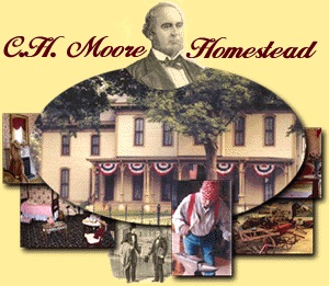 """Golden Memories"" Christmas Candlelight Tours–C.H. Moore Homestead"