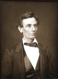 Alexander Hesler's Abraham Lincoln Portrait Arrives in Randolph County