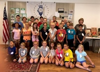 Sterling-Rock Falls Historical Society - Junior Historians, 2018