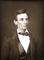 Alexander Hesler's Abraham Lincoln Portrait Arrives in Monroe County