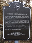 George Rogers Clark Campsite Historical Marker Rededication