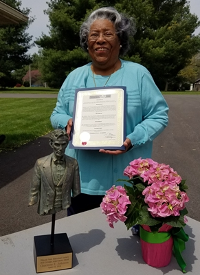 Charlotte E. Johnson Recognized for a Lifetime of Achievement