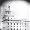 The original Nauvoo Temple, circa 1846