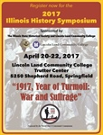 Illinois History Symposium to focus on commemoration of WWI and Suffrage in Illinois