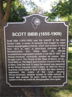 You're invited to celebrate the dedication of a historical marker honoring Scott Bibb