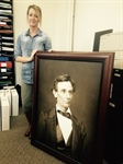 Society seeks donors to place iconic Lincoln portrait in state's county courthouses